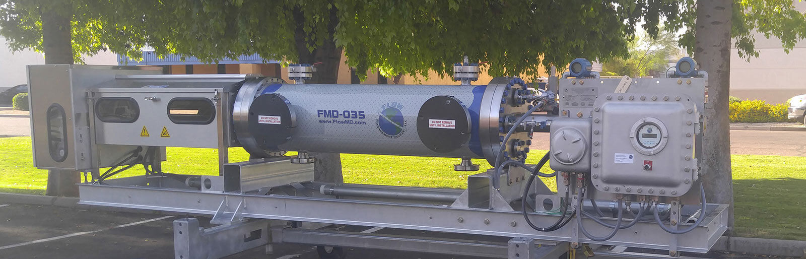 FMD035 Small VOlume Prover Staged for Shipment to Saudi Arabia Cal Lab